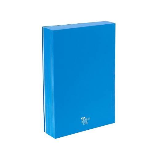 Designer Pocket Diary/Journal My Fluo Book, Blue