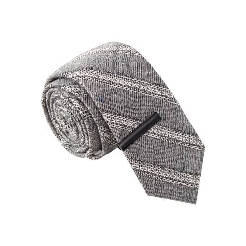 'Richard Buttkiss' Tie with Tie Clip