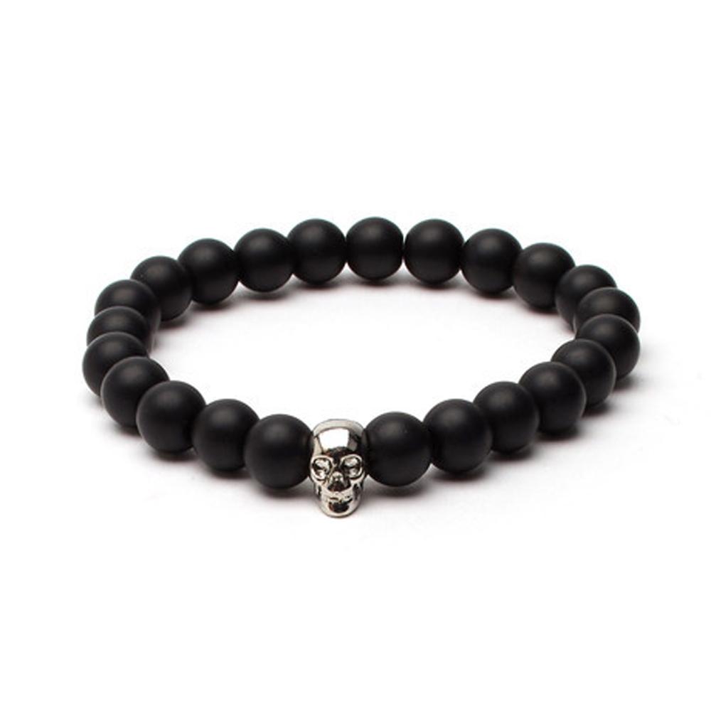Black Matte Onyx Soul Bracelet - Buttigo