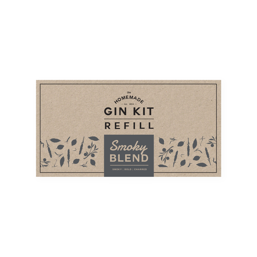 Smoky Blend Refill Tins | The Homemade Gin Kit