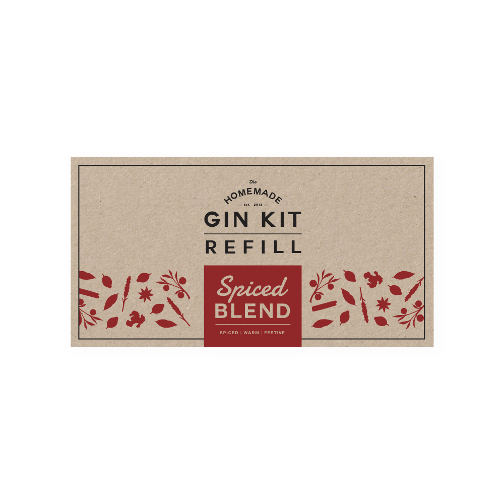 Spiced Blend Refill Tins | The Homemade Gin Kit