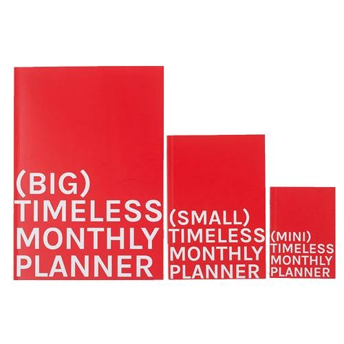 Mini Timeless Monthly Planner | Octagon Design