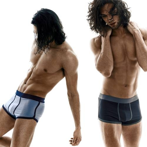 Kim Denzler 2-pack Boxer Briefs | Blue, Black/Grey
