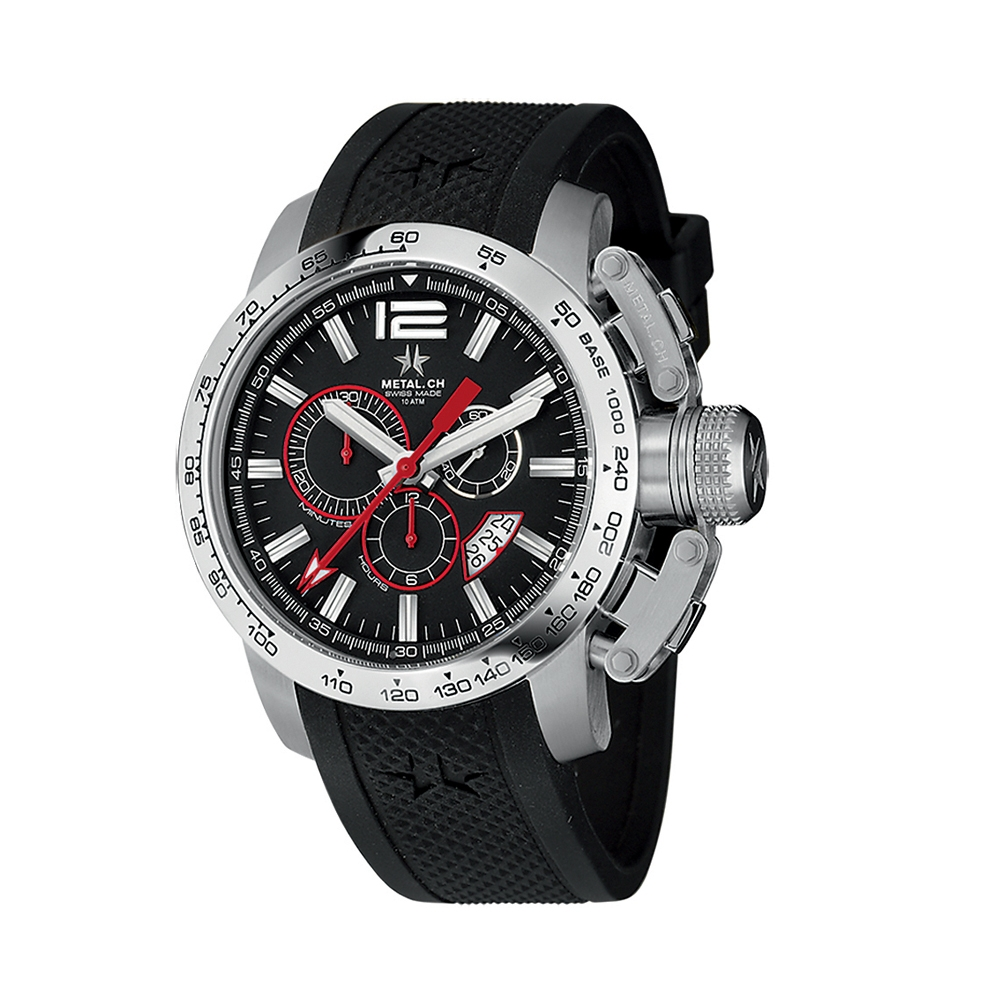 Metal CH Watch | Chronosport 4120