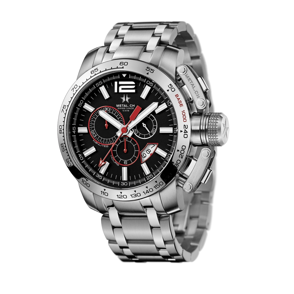 Metal CH Watch | Chronosport 4120.47S