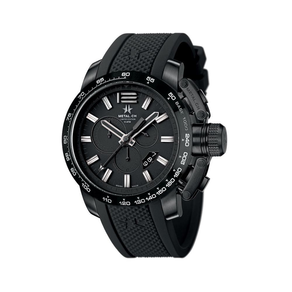 Metal CH Watch | Chronosport 4425