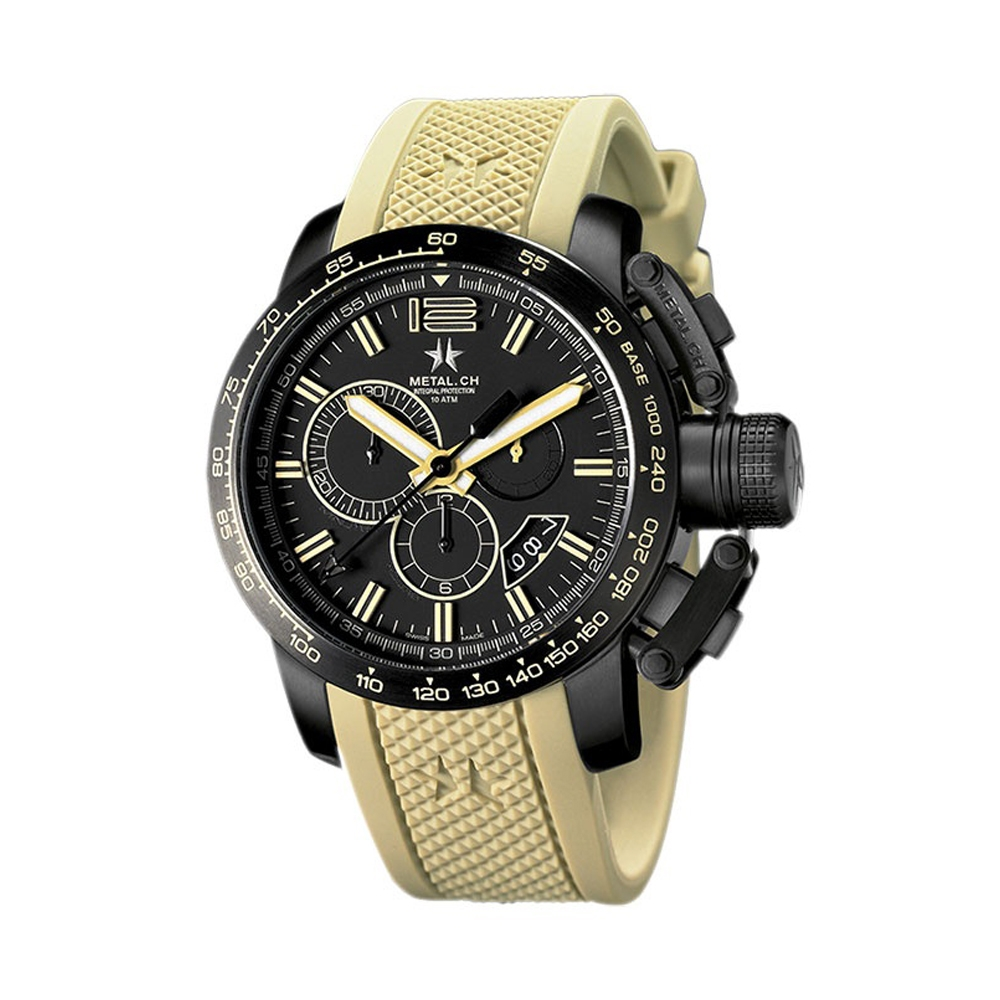 Metal CH Watch | Chronosport 4429