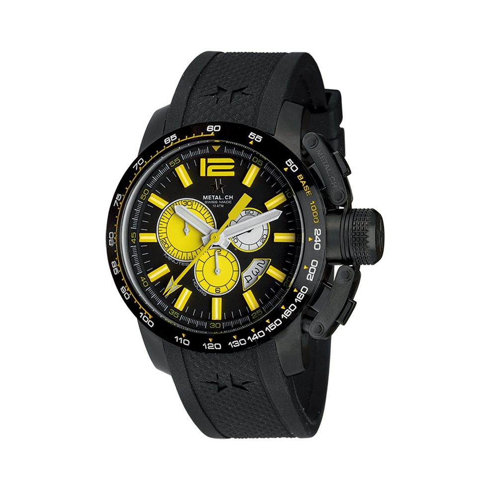 Metal CH Watch | Chronosport 4460