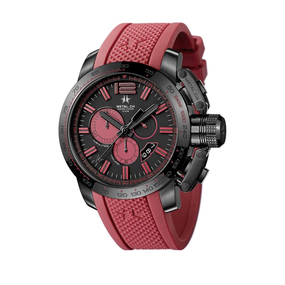 Metal CH Watch | Chronosport 4470