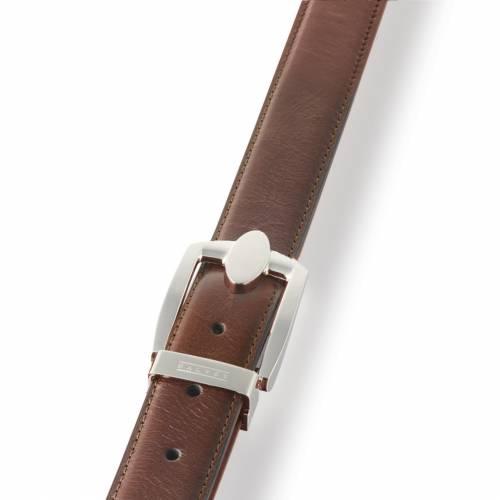Brown Eclipse Leather Belt   Dalvey