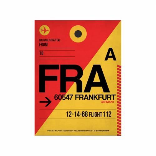 NaxArt | FRA Frankfurt Poster