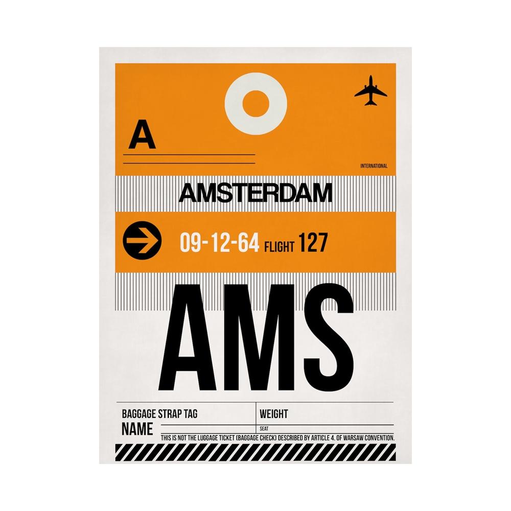 NaxArt | AMS Amsterdam Poster