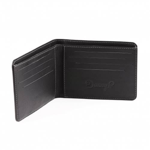 Black Slim Leather Wallet | Danny P