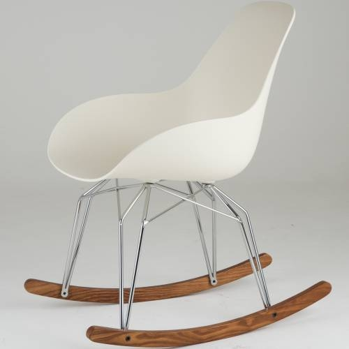 Diamond Dimple Closed Rocking Chair   Kubikoff