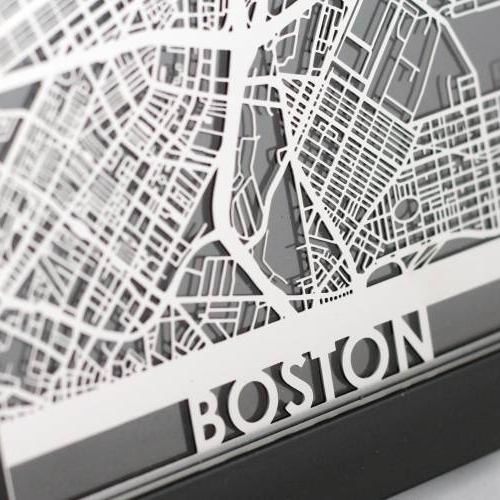 Boston | Cut Maps
