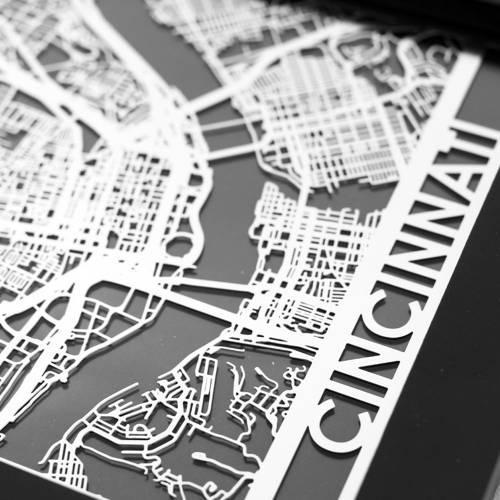 Cincinnati | Cut Maps