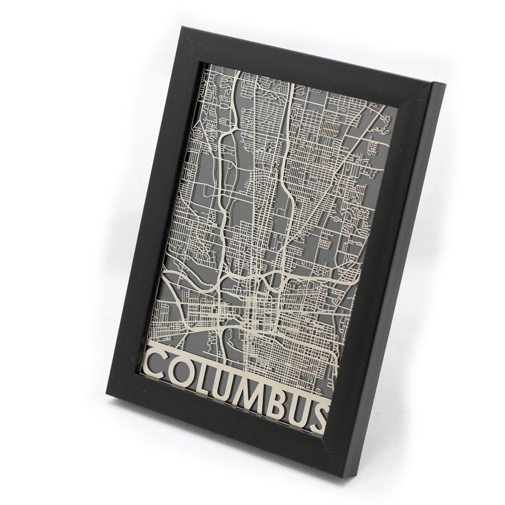 Columbus   Cut Maps