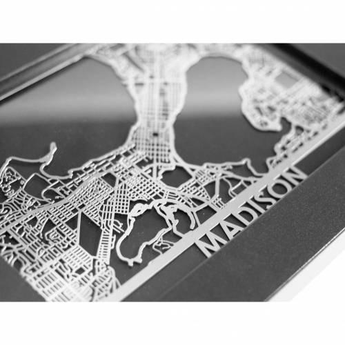 Madison | Cut Maps