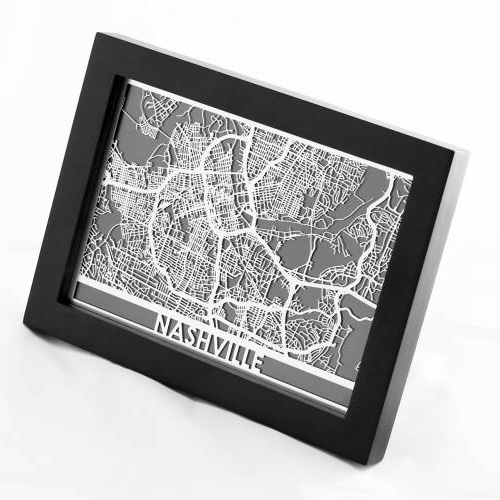 Nashville | Cut Maps
