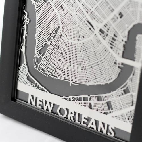 New Orleans | Cut Maps