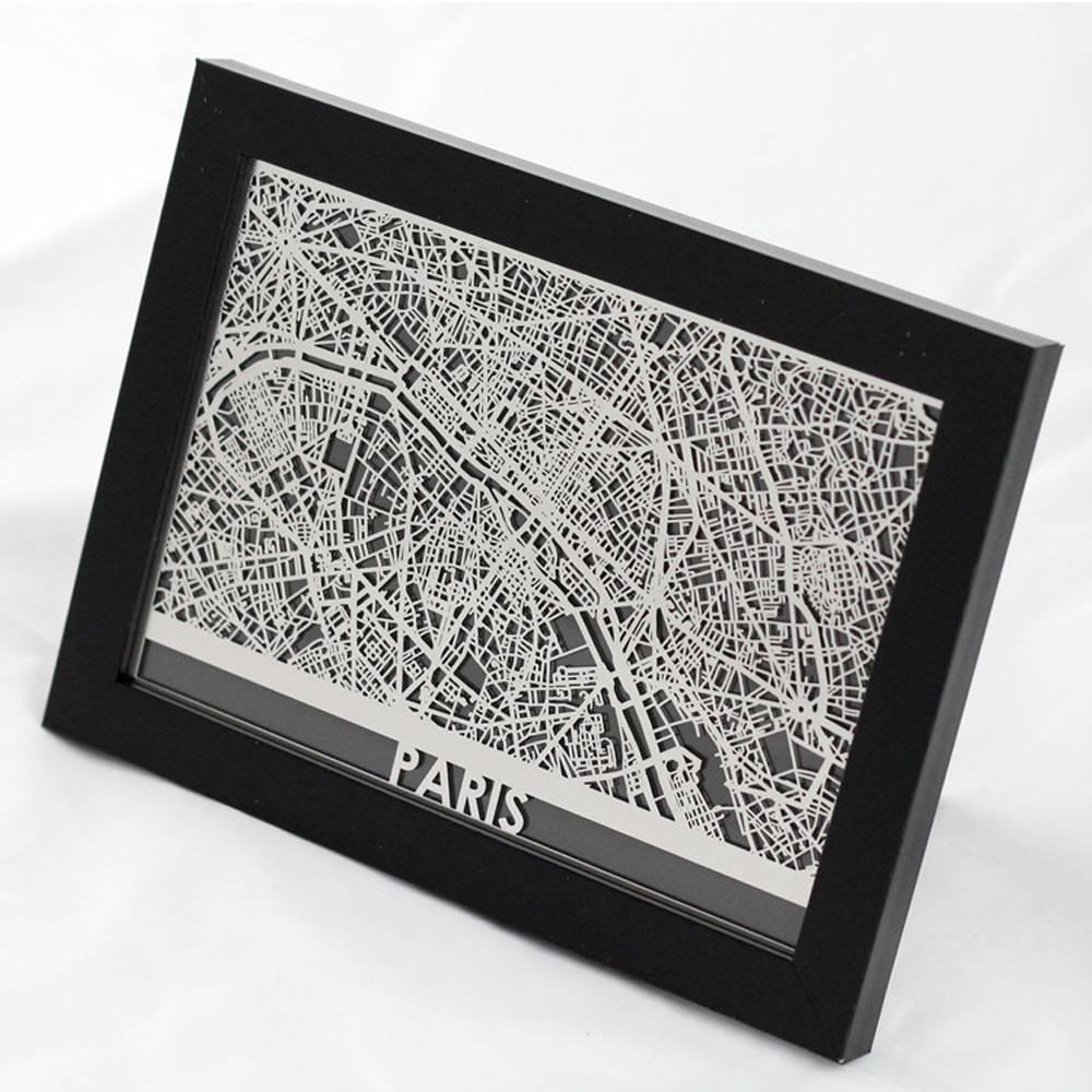 Paris | Cut Maps