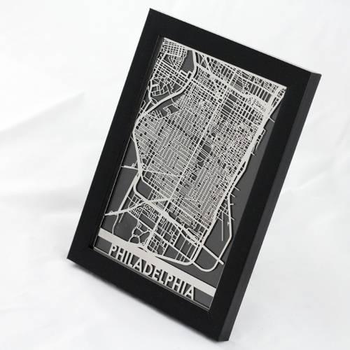 Philadelphia | Cut Maps