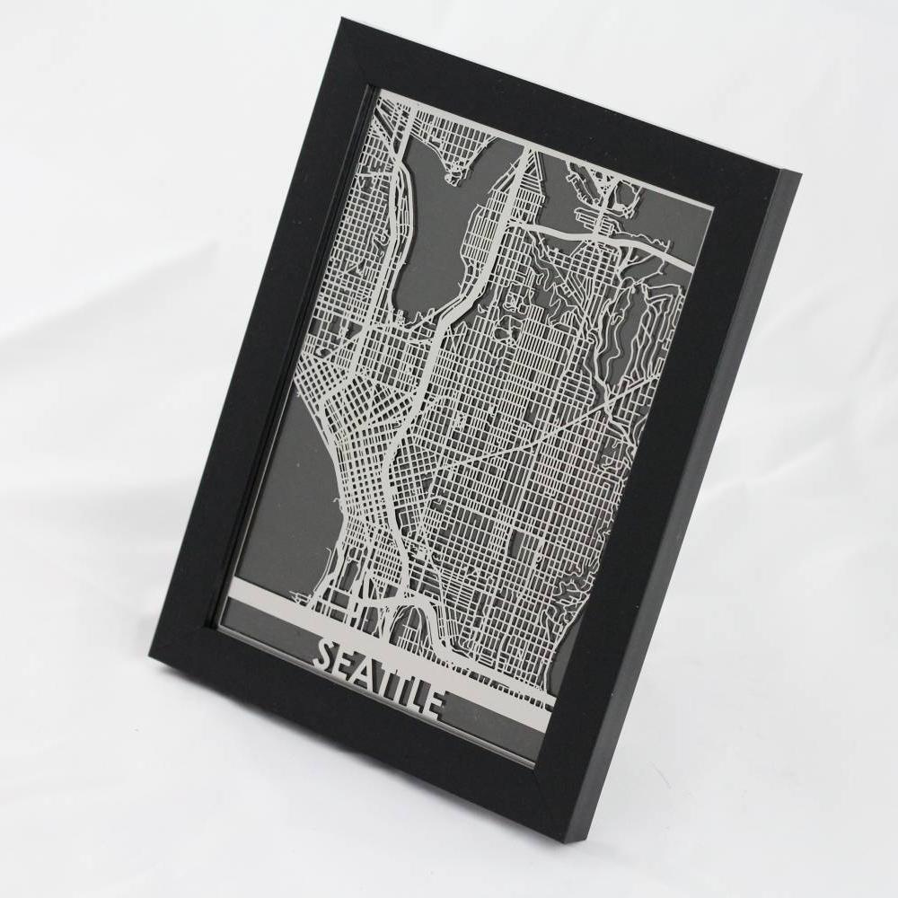 Seattle | Cut Maps