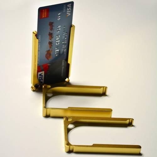 DM1: 12-Card Aluminum Wallet   Decadent Minimalist