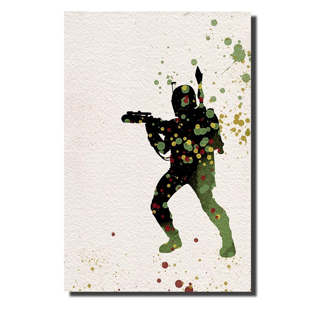 Boba Fett Watercolor | Power Cosmic
