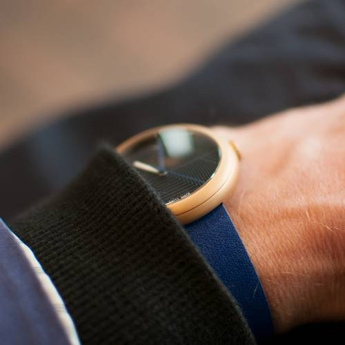 Copper/Blue Hach | Objest Watches
