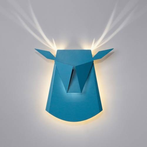 Aluminum Deer Head LED | Plug