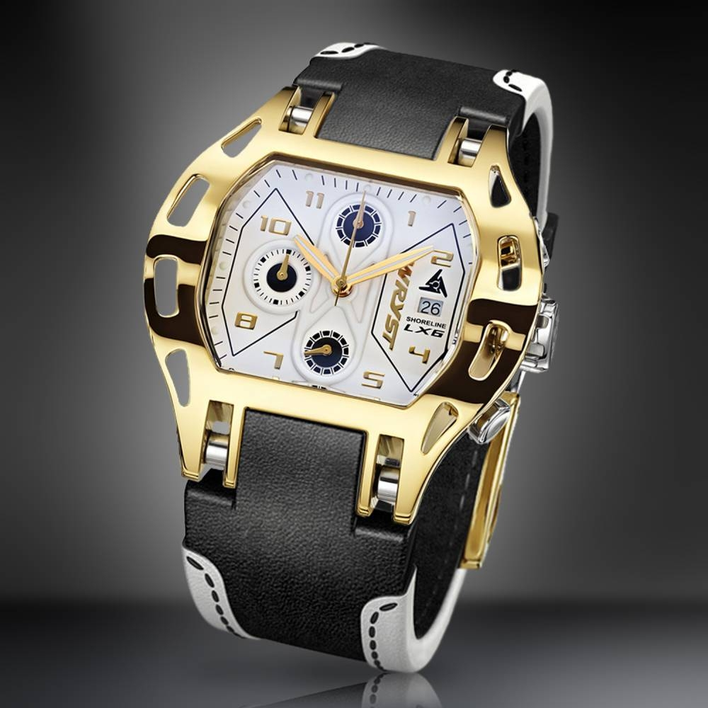 Shoreline LX6 Gold Sport | Wryst Watches
