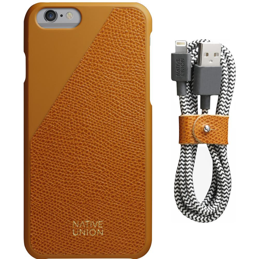 iPhone Case Set | CLIC Leather Edition | Native Union