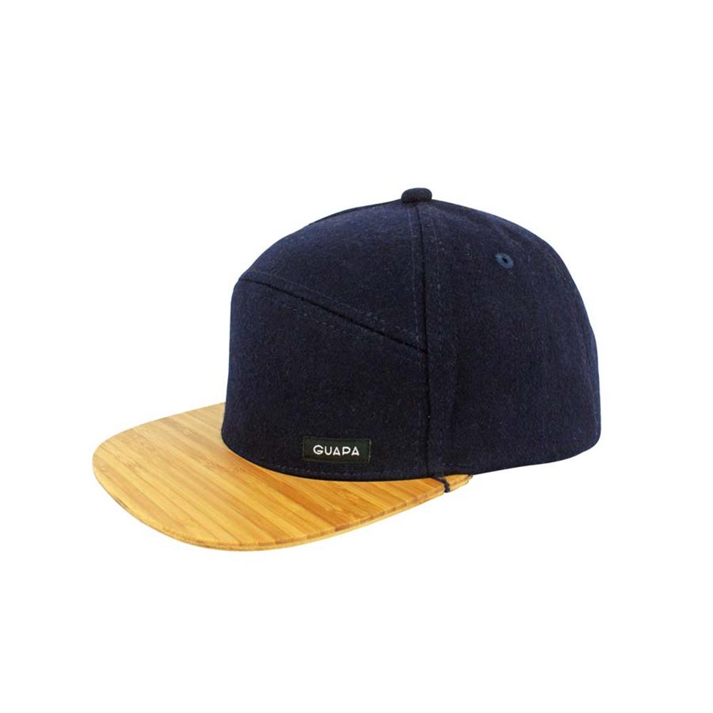 Australian Melton Navy Wool Hat   Guapa Peaks