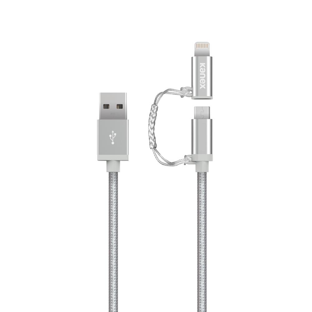 Premium Micro-USB & Lightning Connector Adapter 4ft | Kanex