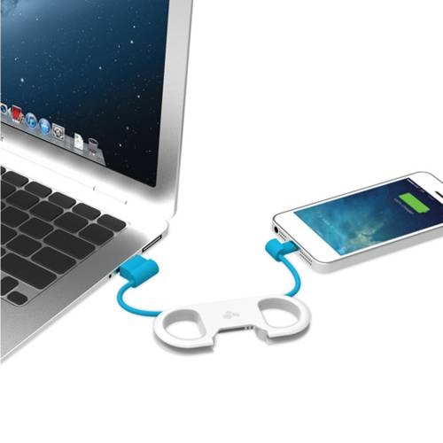GoBuddy Charge & Sync Cable w/Lightning Connector | Kanex