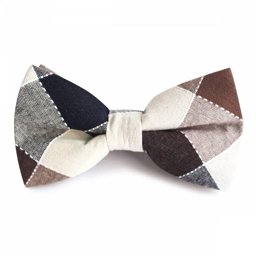 Winston Check Bow Tie   The Tie Bar