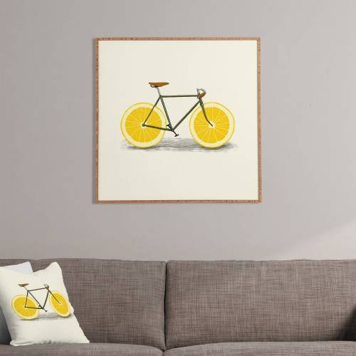 Zest 1 Florent Bodart Framed Wall Art | Deny Designs