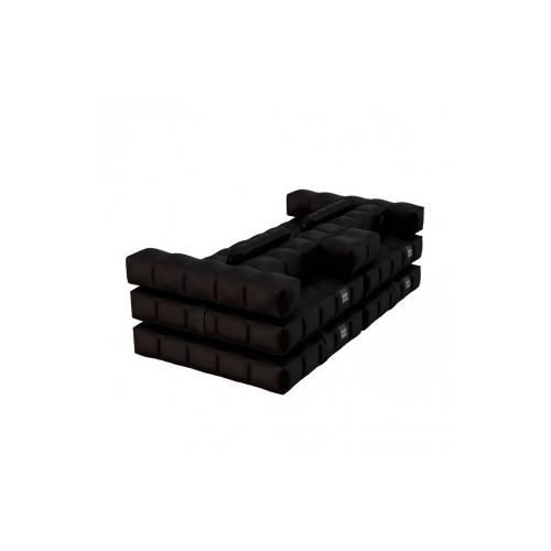 Sofa / Double Lounger Set | Matte Black | Pigro Felice