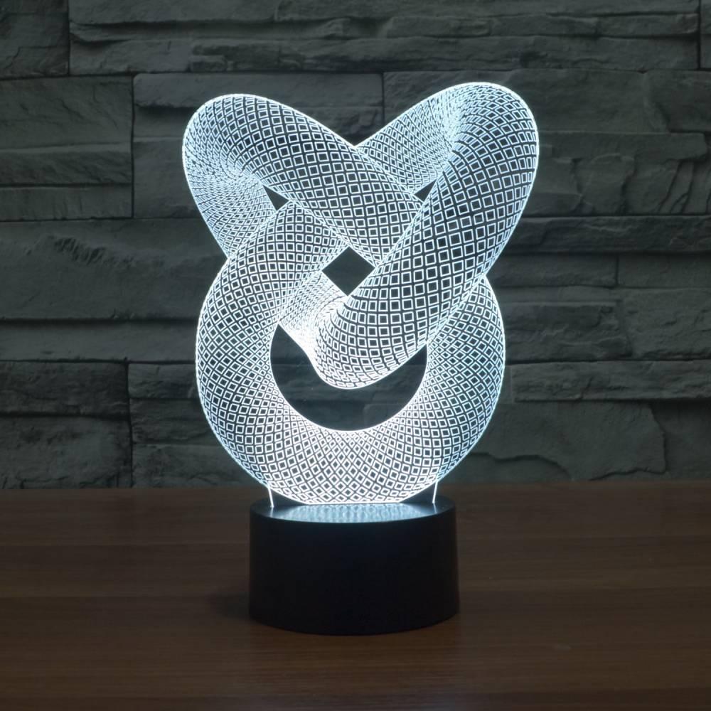 3D Illusion Table Lamp | Rabbit | Coocepts Lighting - Illusion Table Lamp Rabbit Coocepts Lighting