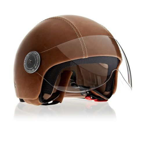 Leather Helmet | Vintage Havana