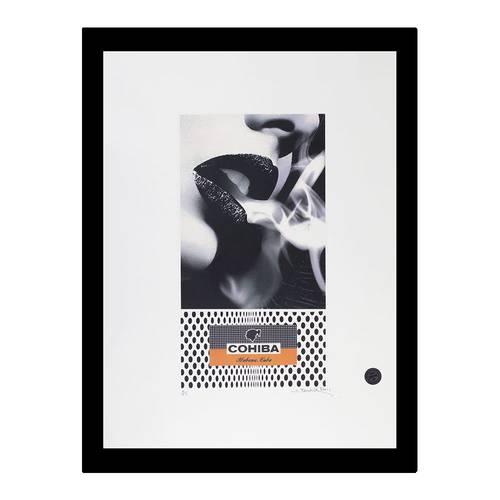 785-CCP00134 | Smoky Lips | Cohiba Signed Art