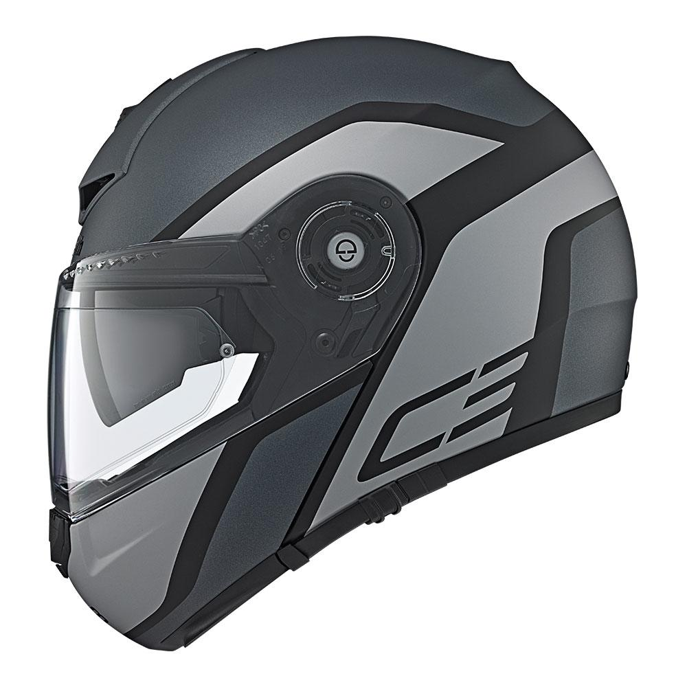 C3Pro | Observer Grey | Schuberth Helmets