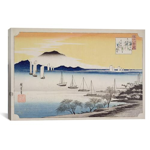 Yabase kihan (Returning Sails at Yabase) | Canvas Print