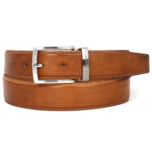 Men's Leather Belt | Tobacco