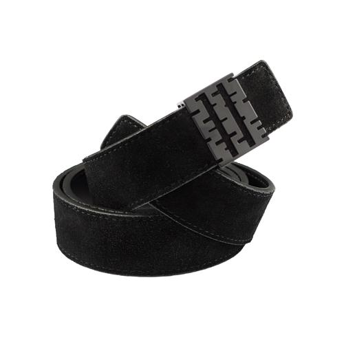 Suede Belt | Black