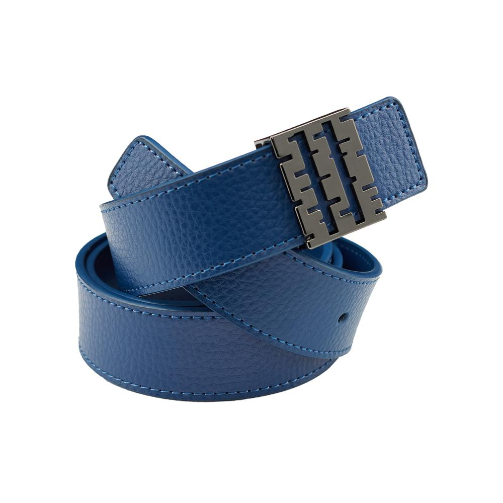Breza Leather Belt | Navy | Accessories