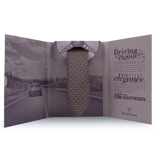 The Icon Tie | Handmade Italian Silk | The OutlierMan