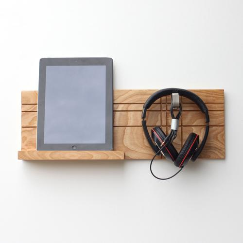 Headphone & Tablet Holder