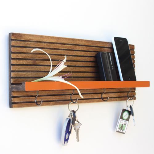 Key Holder / Jewelry Organizer   Espresso
